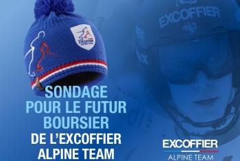 Votez pour le nouveau junior de l'Excoffier Alpine Team